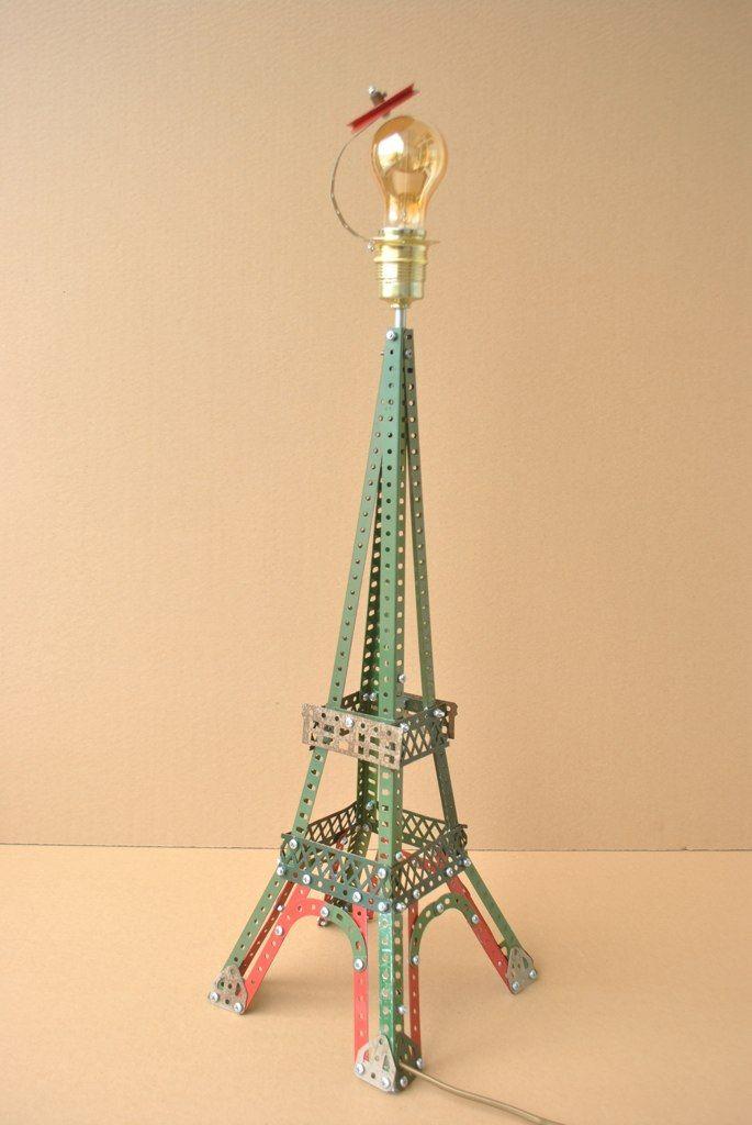 Bonjour.... Paris!!!! Lamp by Billy Lelieveldt