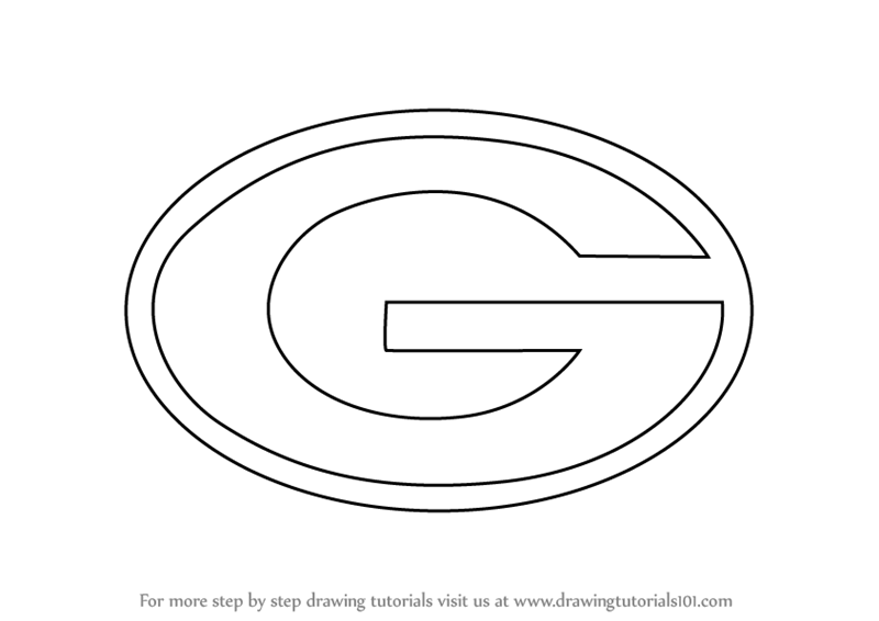 Learn How To Draw Green Bay Packers Logo Nfl Step By Step Drawing Tutorials Green Bay Packers Logo Green Bay Green Bay Packers
