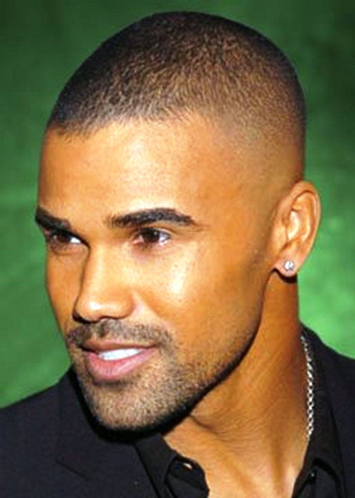 black men buzz cut hairstyles