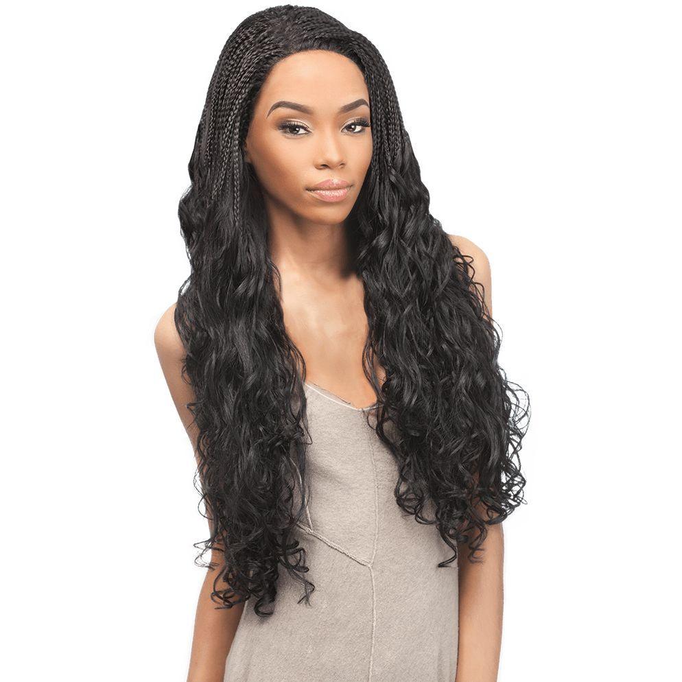 Outre Lace Front Wig Batik Bundle Brazilian Braid