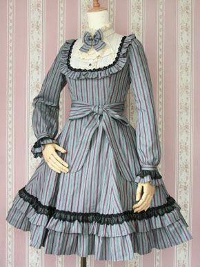 Victorian Maiden / One Piece / Classical Doll Regimental Dress
