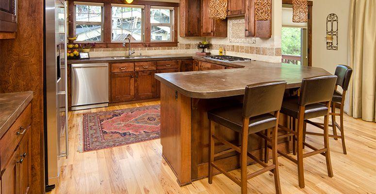 Hardwood Floor Kitchen Cabinet And Wood Floor Color Combinations