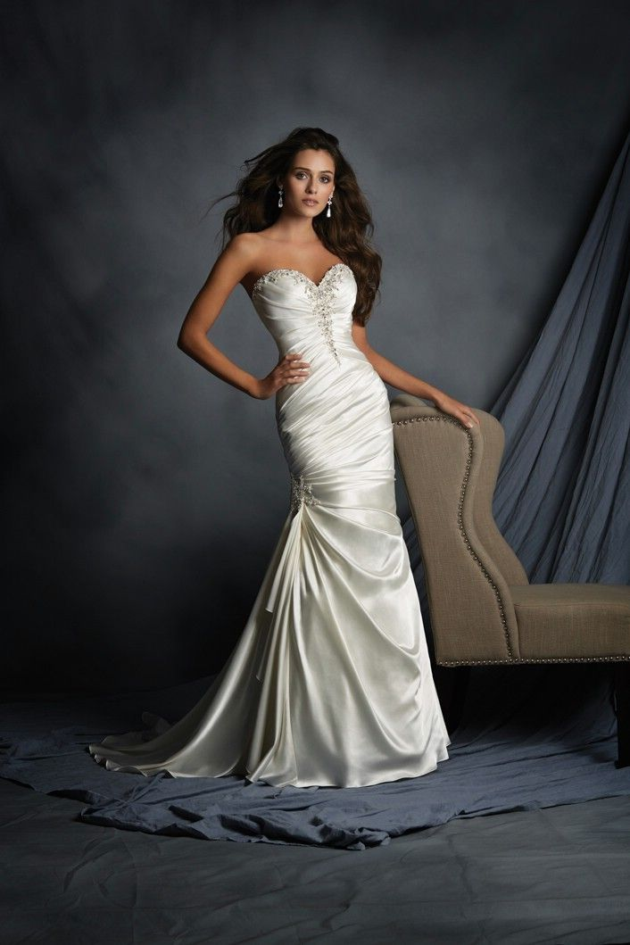 Alfred Angelo Quick Delivery Wedding Dresses Style 2520 Wedding Dress Necklines Wedding Dresses Bridal Dresses