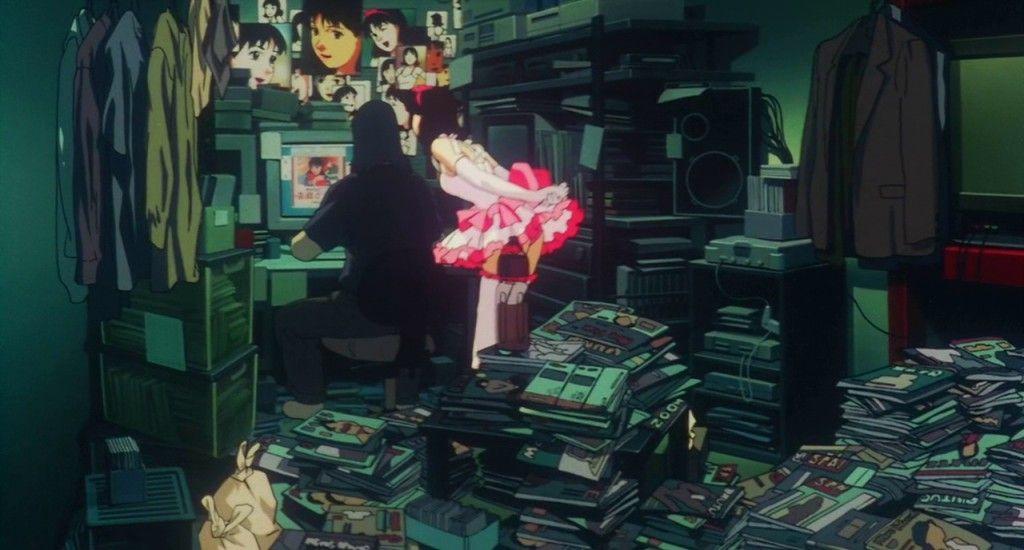 Perfect Blue Stalker And Mima Blue Anime Anime Movies Satoshi Kon