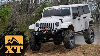 4 Inch Lift Vs Stock With 35 Inch Tires Articulation Offroading