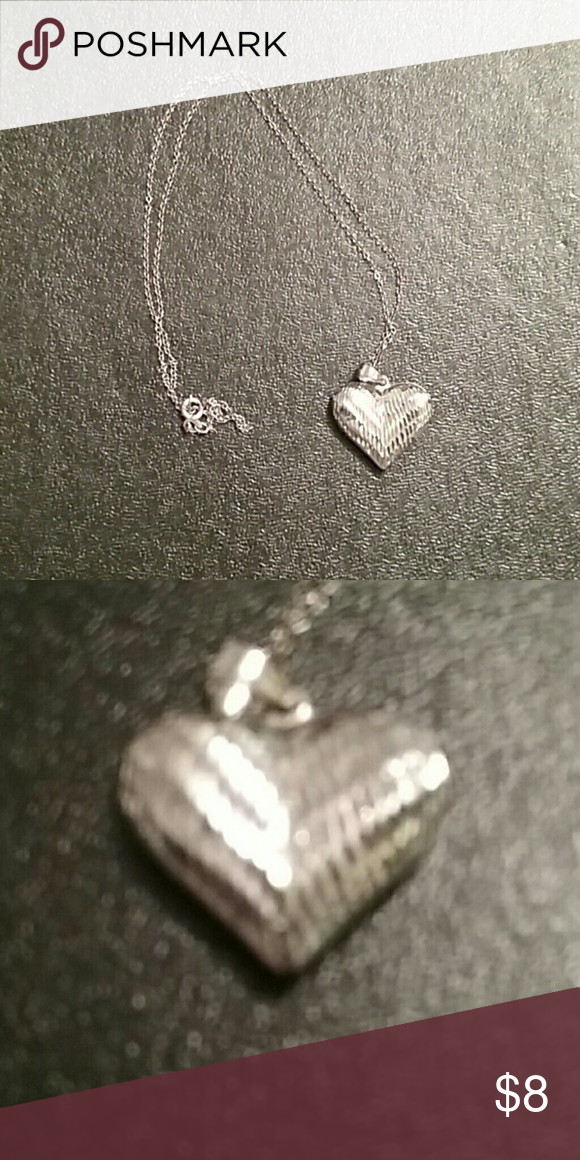 Necklace Silver heart Jewelry Necklaces