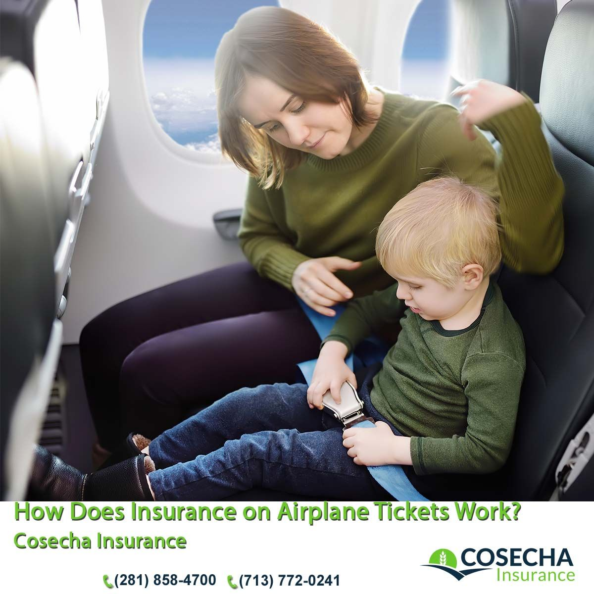 How Does Insurance on Airplane Tickets Work? Cosecha