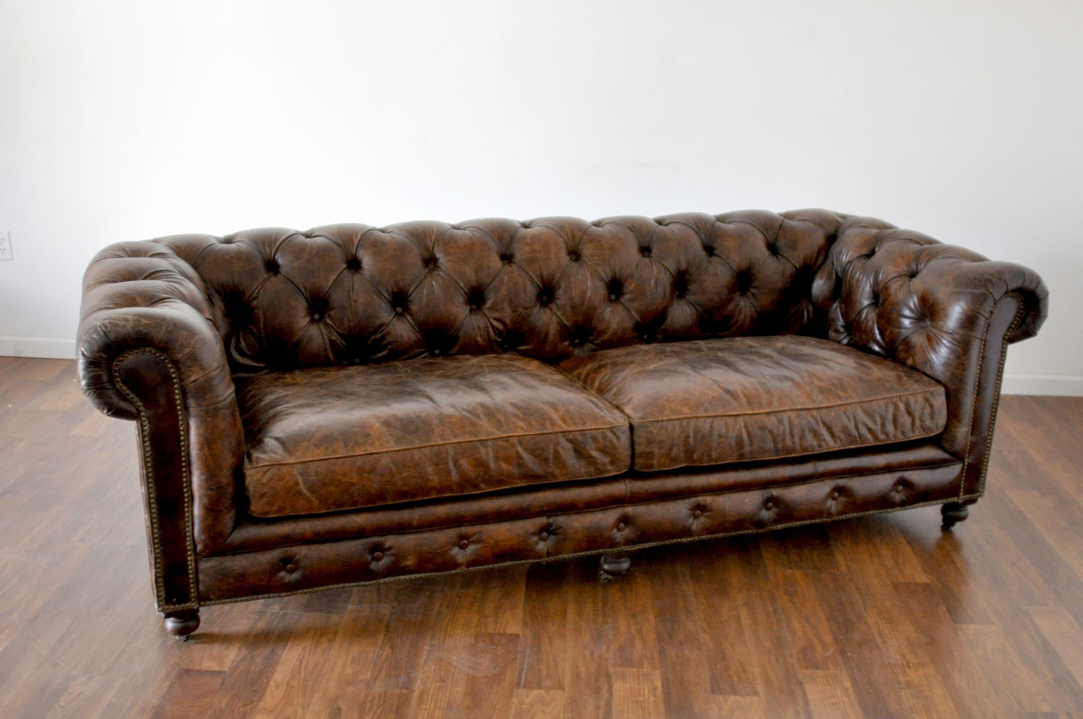 tufted brown leather sofa grey corner bed uk best of photos sofas