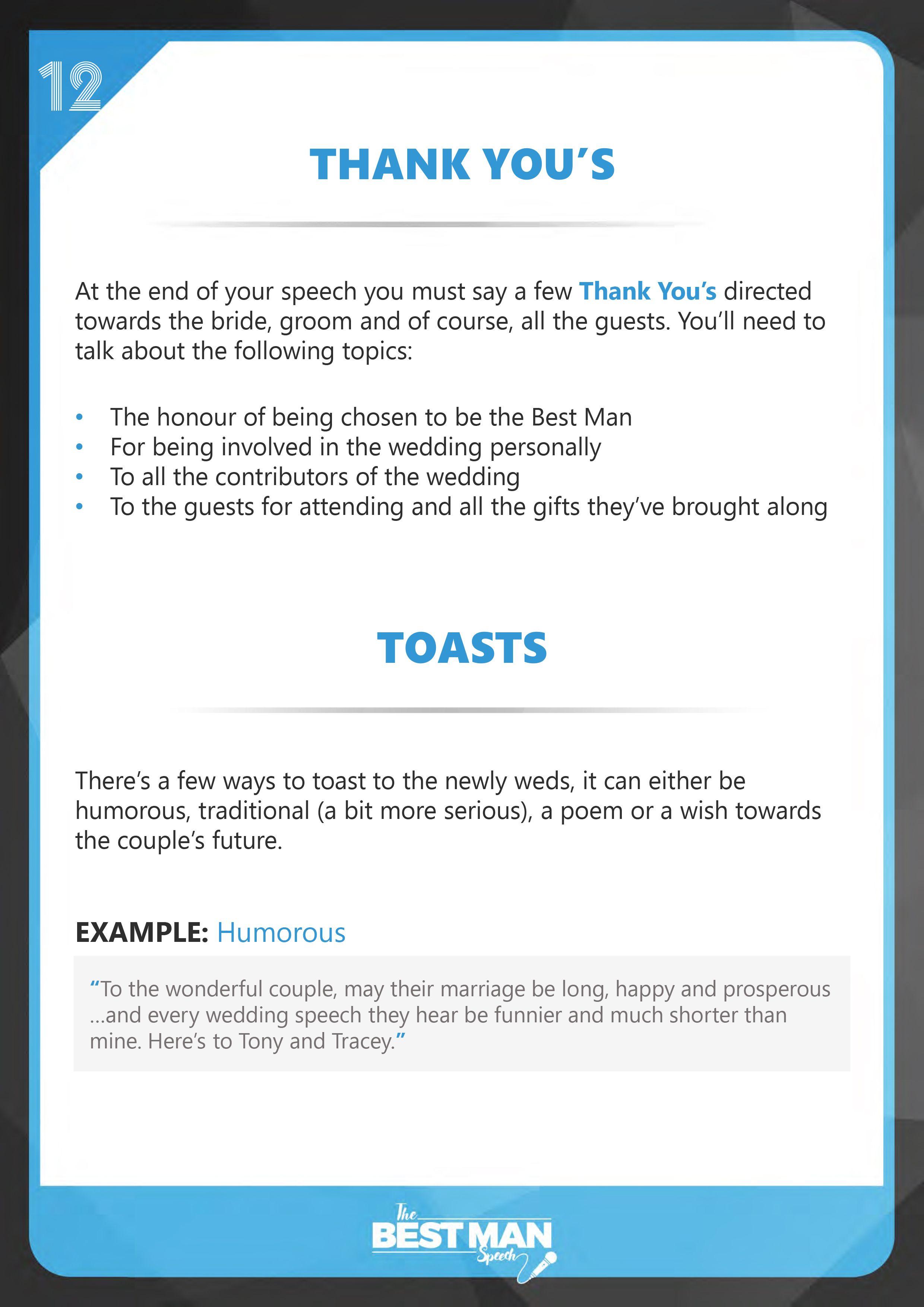 The Best Man Speech Guide Free Best Man Speech Template Best Man Speech Template Best Man Speech Wedding Speech Short best man speech template