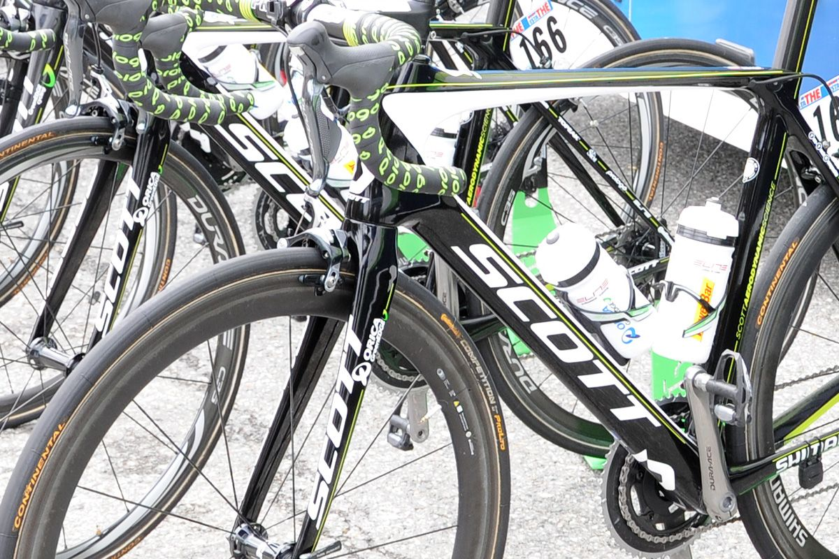 Orica Greenedge Have Filled Their Quiver With Scott Foil Team