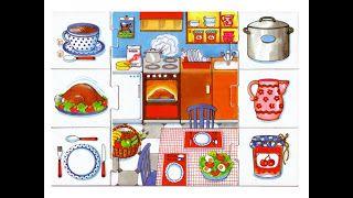 Tea Materiales E Ideas Relacionando Partes De La Casa Y Sus Objetos Partes De La Misa Partes De La Casa Lenguaje En Niños