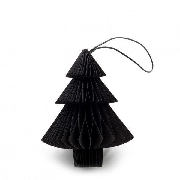 Special Offer NORDSTJERNE Black Tree Christmas Decorations 4 Pack (3 - christmas home decor