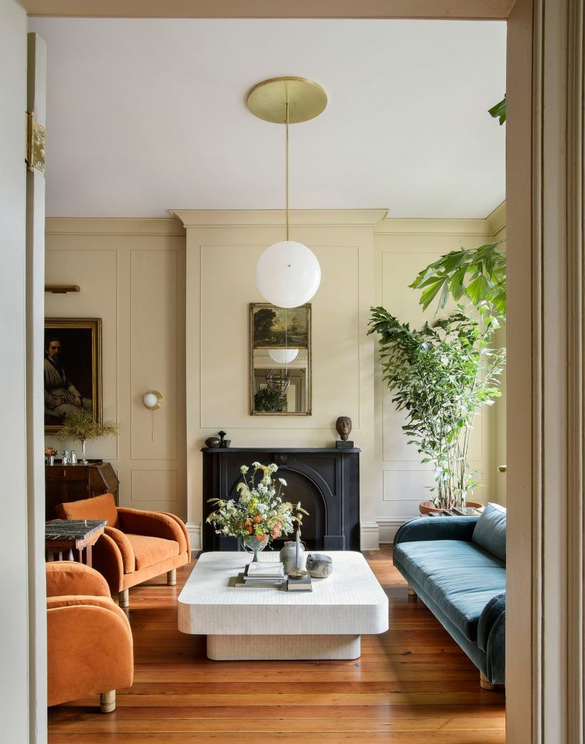 Workstead gives thcentury Charleston row house a
