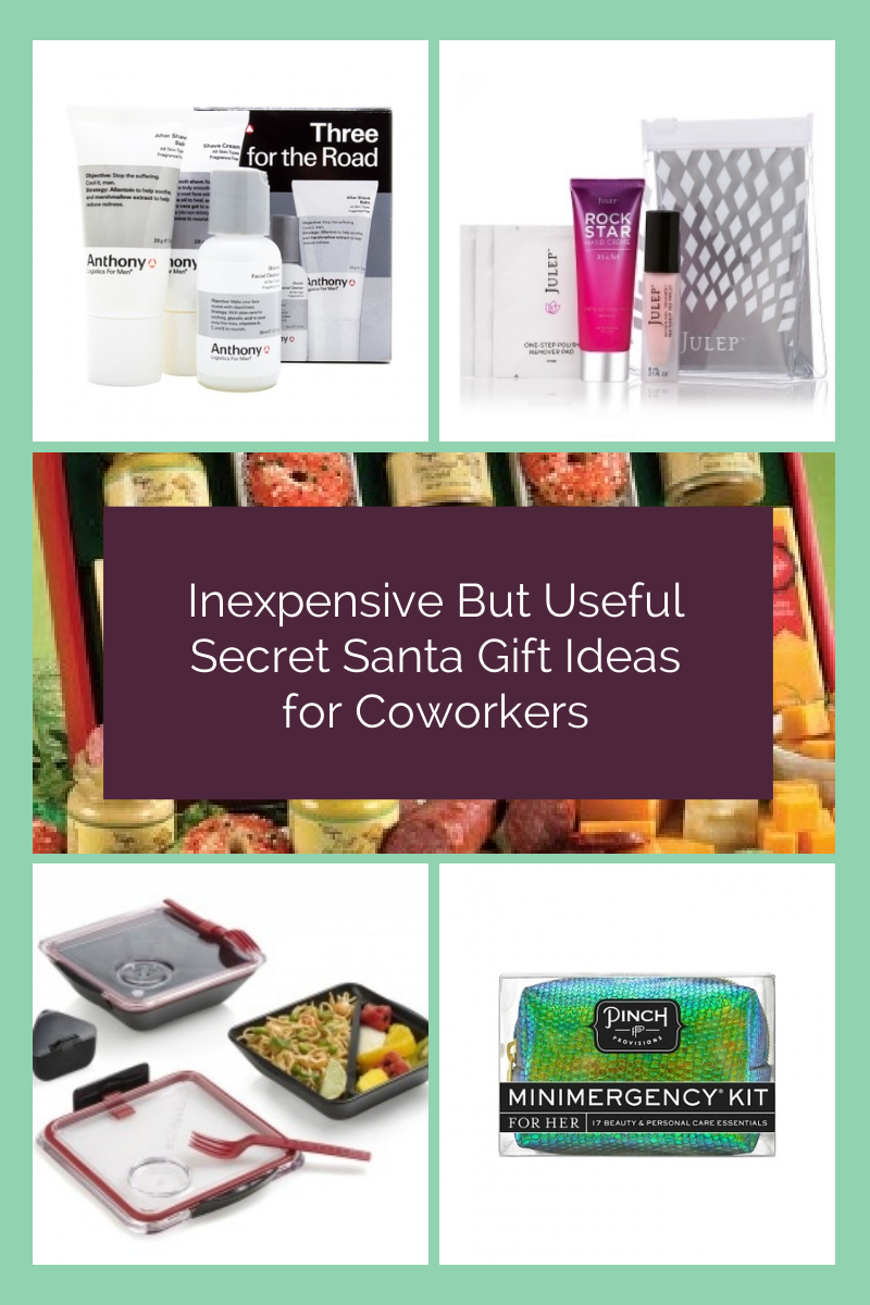 there are a couple of challenges with workplace secret santa exchanges there is usually a low budget and you are buying a gift for someone you may not know