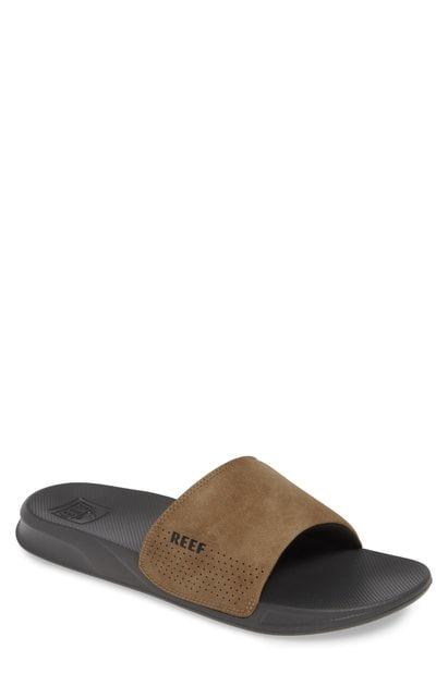 0ac7937507c REEF ONE SLIDE SANDAL. #reef #shoes   Reef in 2019   Slide sandals ...