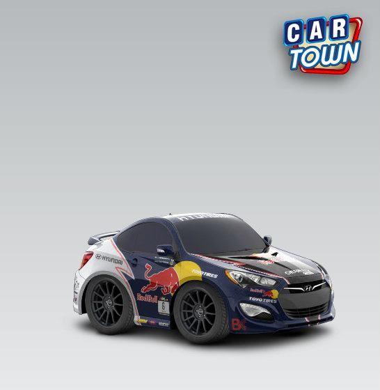Hyundai Genesis Coupe 2013 - Red Bull
