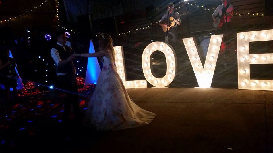 First Dance Wedding Band Love Letters In A Barn
