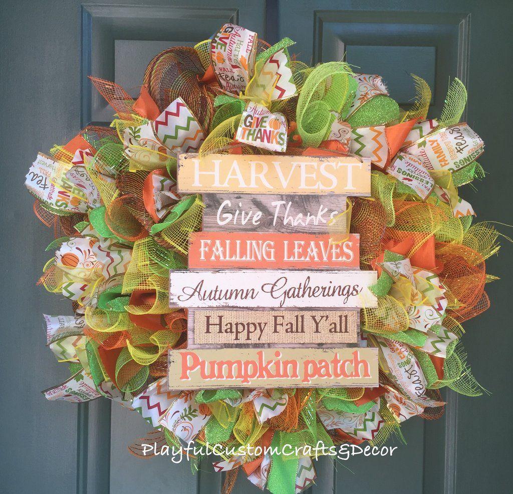 """Fall Theme"" Wreath"