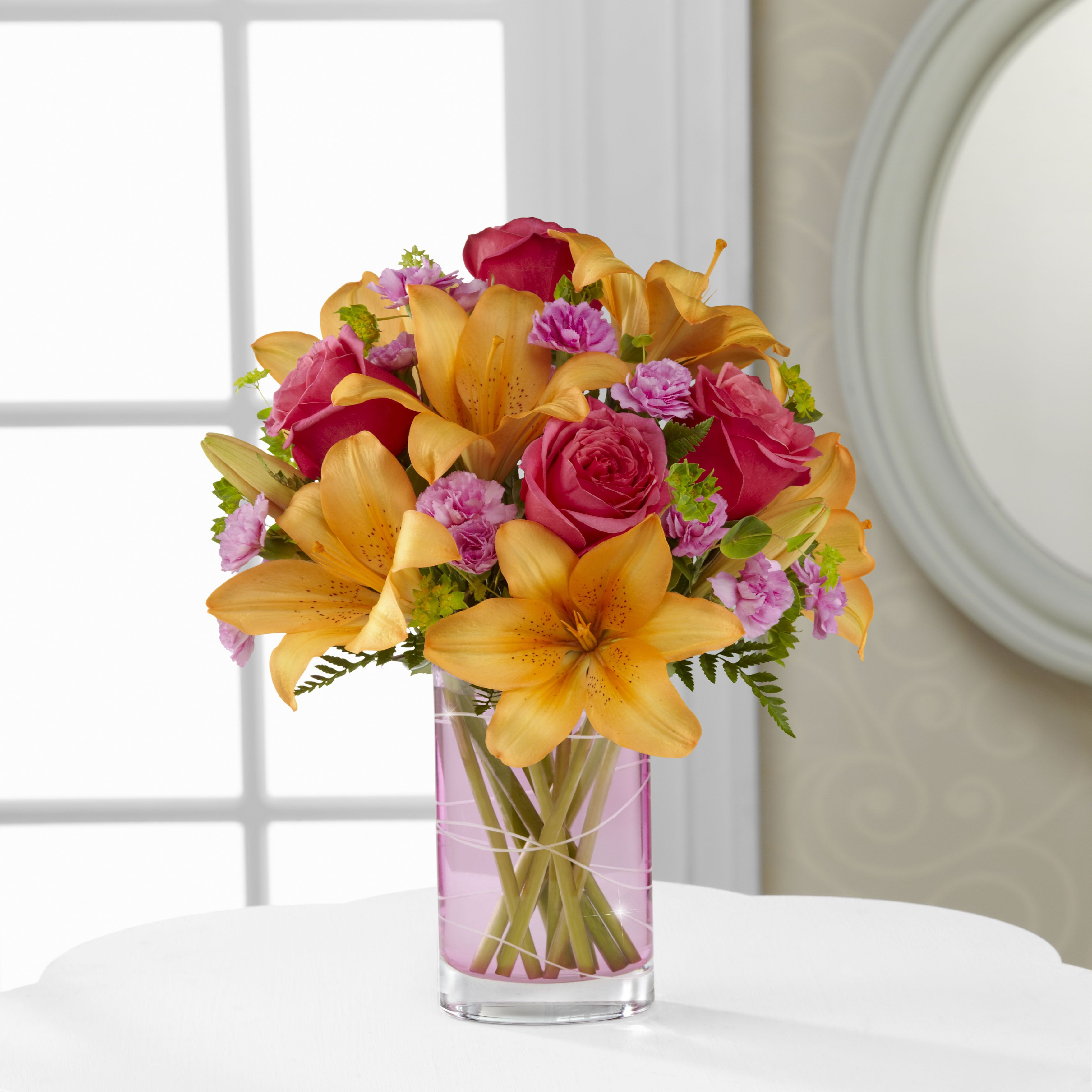 The Garden Terrace Flower arrangements, Flower gift