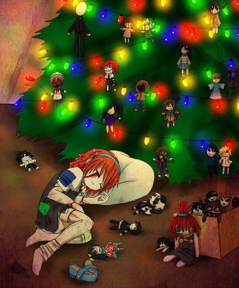 creepypasta christmas tree Creepypasta cute, Creepypasta