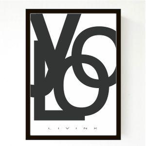 LAGERSALG - 50 x 70 cm - YOLO