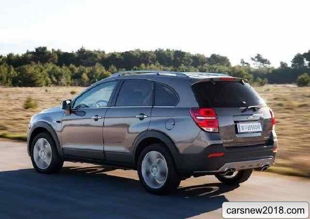 Chevrolet Captiva 2018 2019