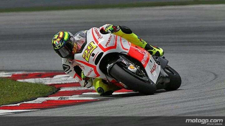 Andrea Iannone, Andrea #2 at Ducati looks fast but not fast enough yet!