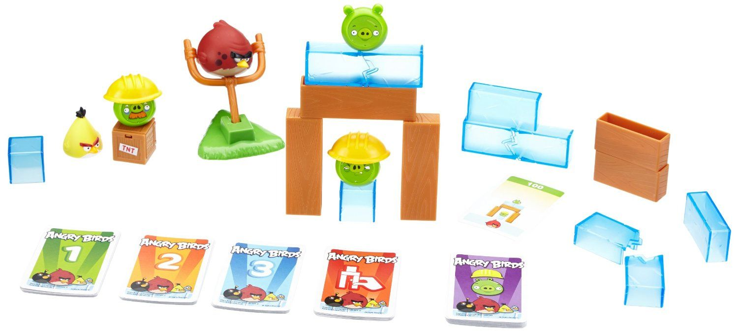 Angry birds on thin ice game toys games