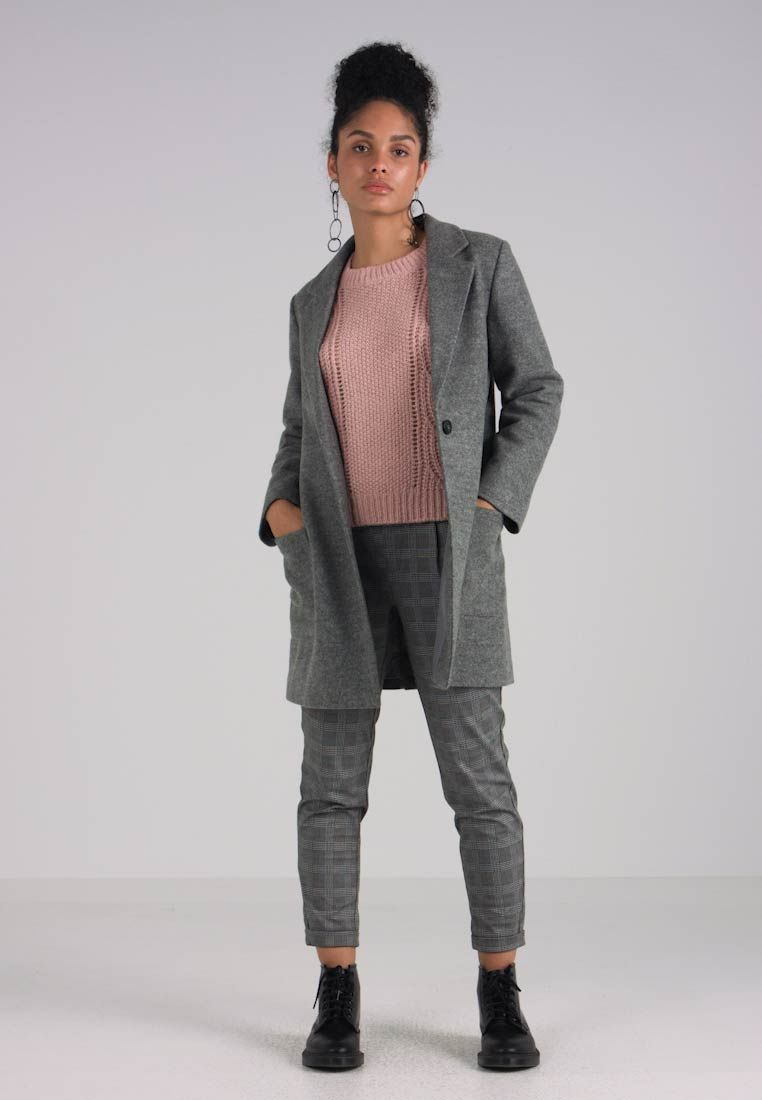 ed4ac9c4 Kåpe / frakk - light grey melange @ Zalando.no 🛒 | nelly | Kåpe