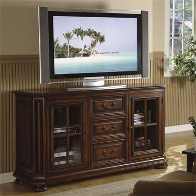 riverside furniture u2013 cantata 60inch high waist tv console 34 w u0026 61 h