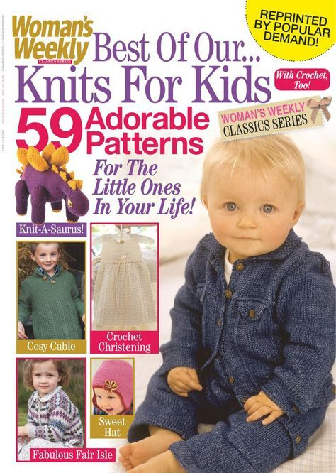 Womans Weekly Knits For Kids November 2015