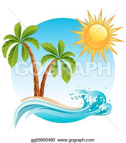 [+] Palm Tree Clip Art