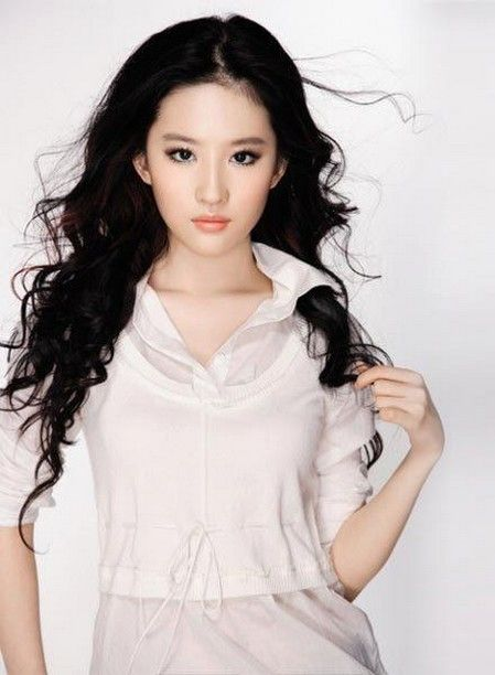Asian Wavy Hairstyles For Long Hair : Liu yi fei with long curly hairstyle.jpg hair pinterest