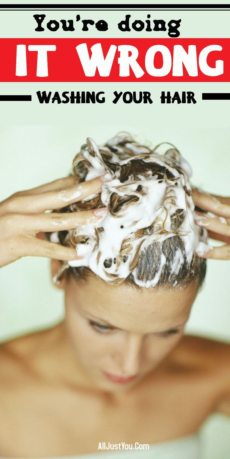 How to Wash Your Hair Properly? hair_care_tips hair