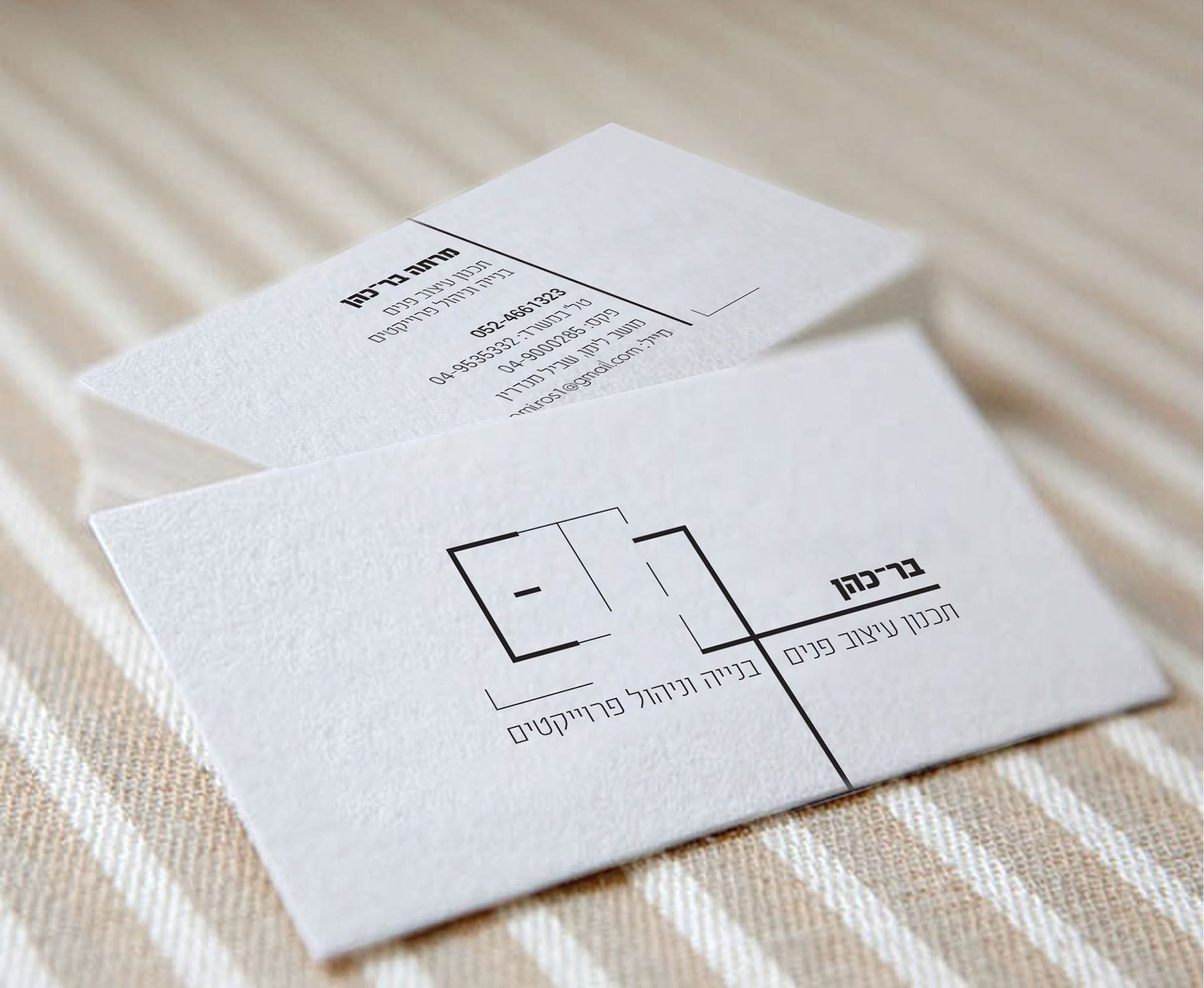 Business Card Interior design & constructor on Behance