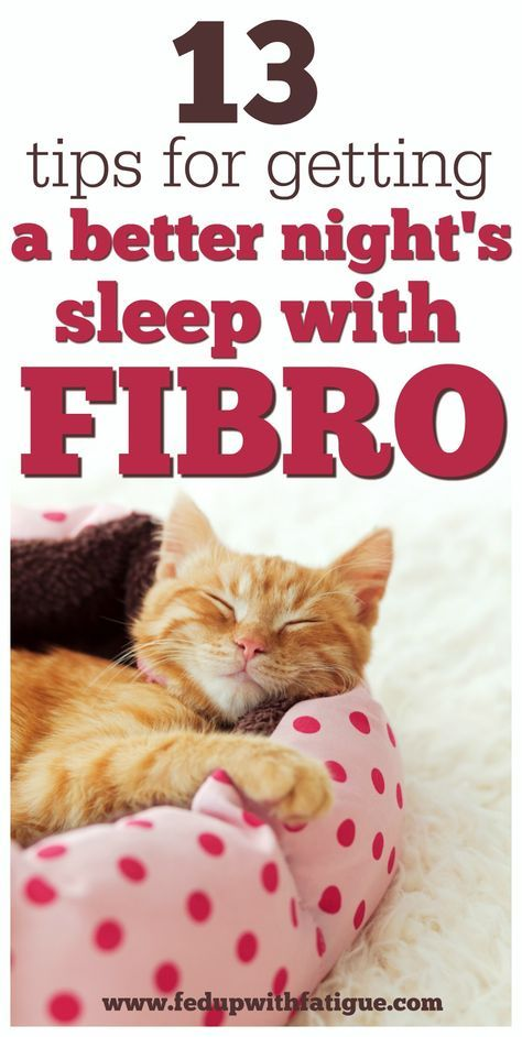 13 tips for getting a better night's sleep with fi