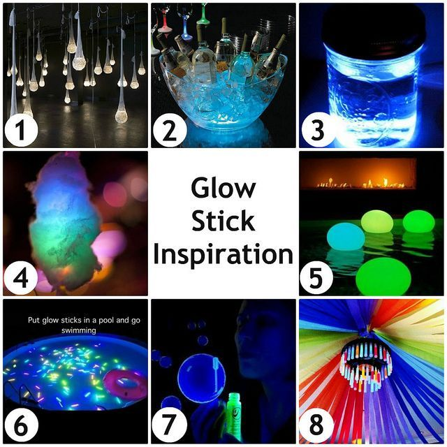 Pin by Инна Гущина on Party! Party ideas !!! | Pinterest Glow Stick Lighting Ideas on fun with glow sticks ideas, glow stick centerpiece ideas, glow stick decorating ideas, 10 awesome glow stick ideas, glow sticks cool, glow stick game ideas, glow stick costume ideas, glow sticks in the dark, glow sticks in water, glow stick party decoration ideas, glow in the dark ideas, glow stick outdoor ideas, led lighting ideas, glow sticks in balloons, glow stick craft ideas,
