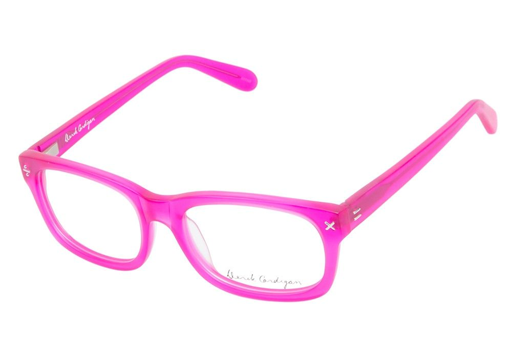 Derek Cardigan 7003 Matte Fuchsia eyeglasses are feisty and vibrant ...