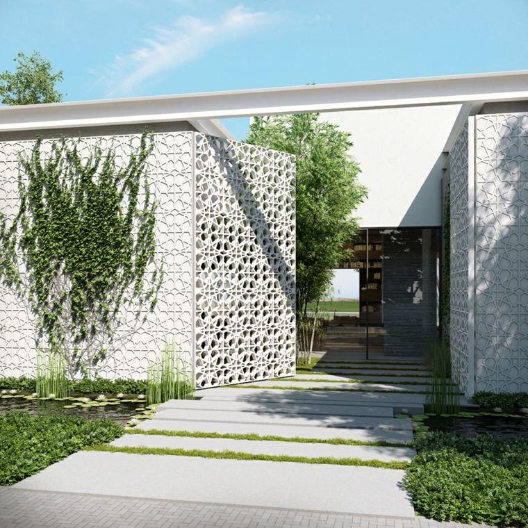 Clôtures et palissades de jardin modernes - | Architecture ...