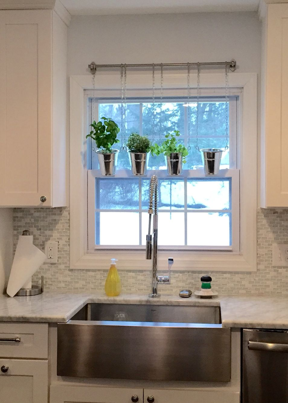 Using the IKEA Fintorp system as a window herb garden | any ...