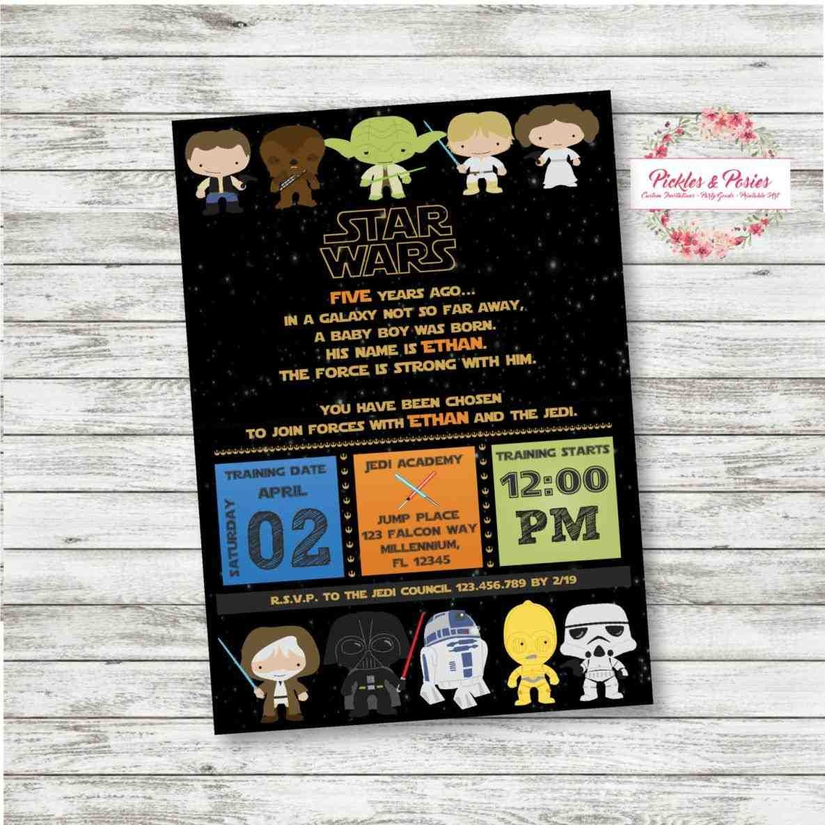 explore star wars invitations, star wars party, and more!. walking ...