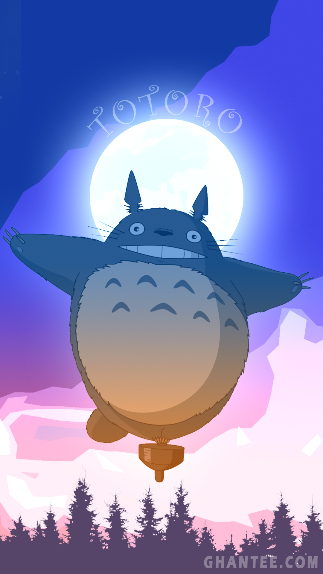 cute android wallpaper in 2020 Android wallpaper, Totoro