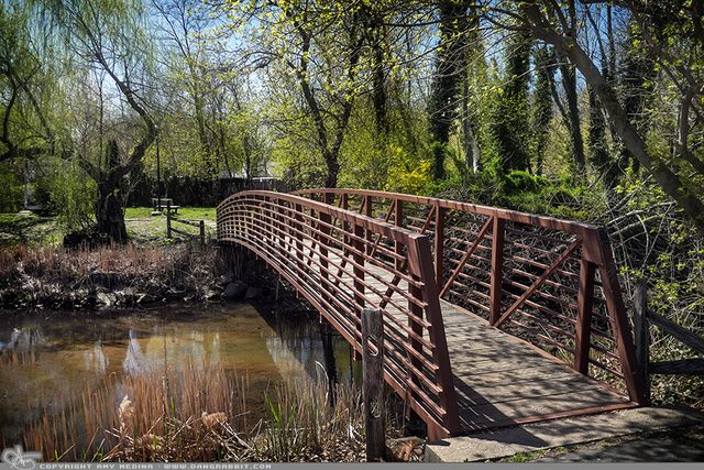 """Picture-A-Day (PAD n.2111) """"Places to Walk"""" ~Amy, DangRabbit Photography Little bridge, Long Island, NY"""