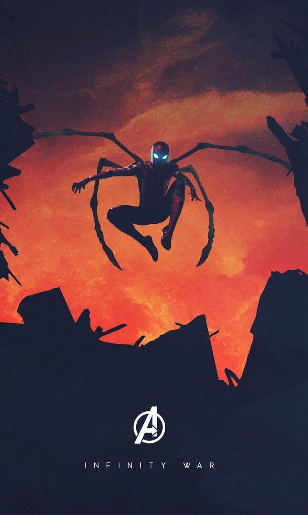 Iron Spider Man Avengers Infinity War Marvel Wallpaper Marvel Superheroes Avengers Wallpaper