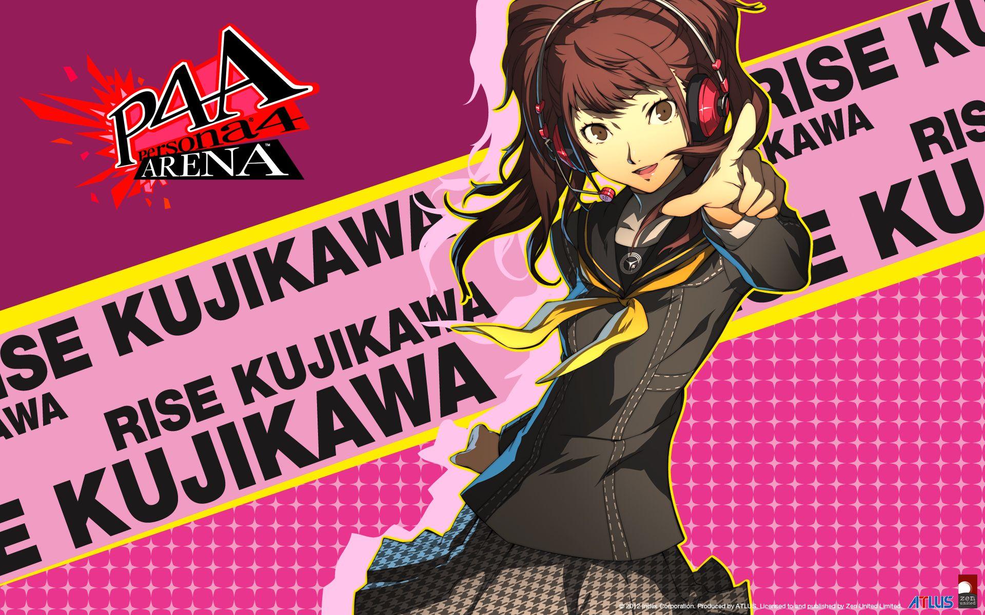 pix Rise Kujikawa Wallpaper persona 4 arena ultimax rise kujikawa
