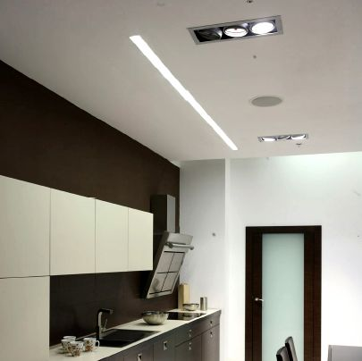Iluminacion led lineal para cocina google search - Iluminacion cocina led ...