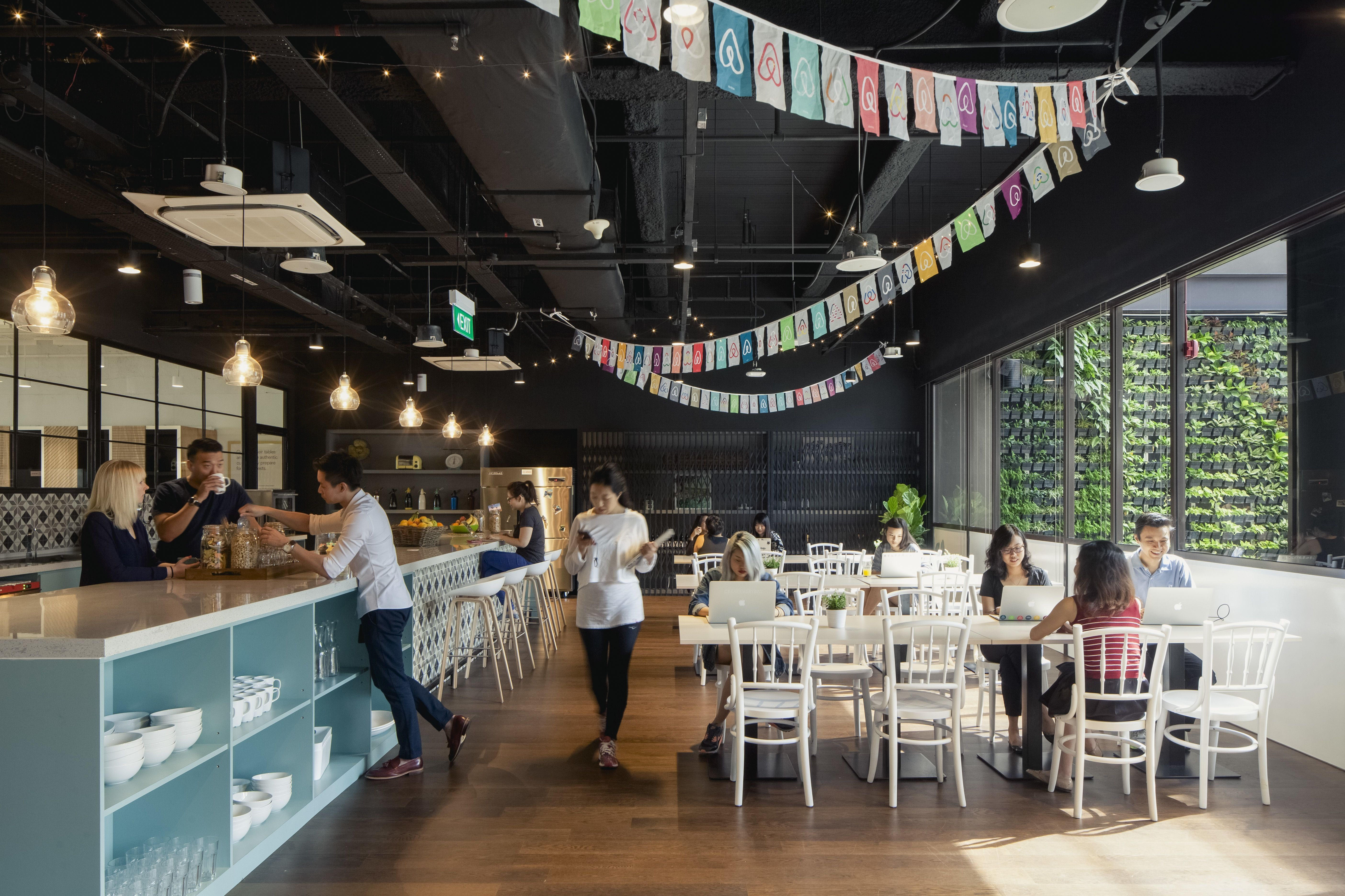 innovative office designs. A Tour Of Airbnb\u0027s New Singapore Office Innovative Designs