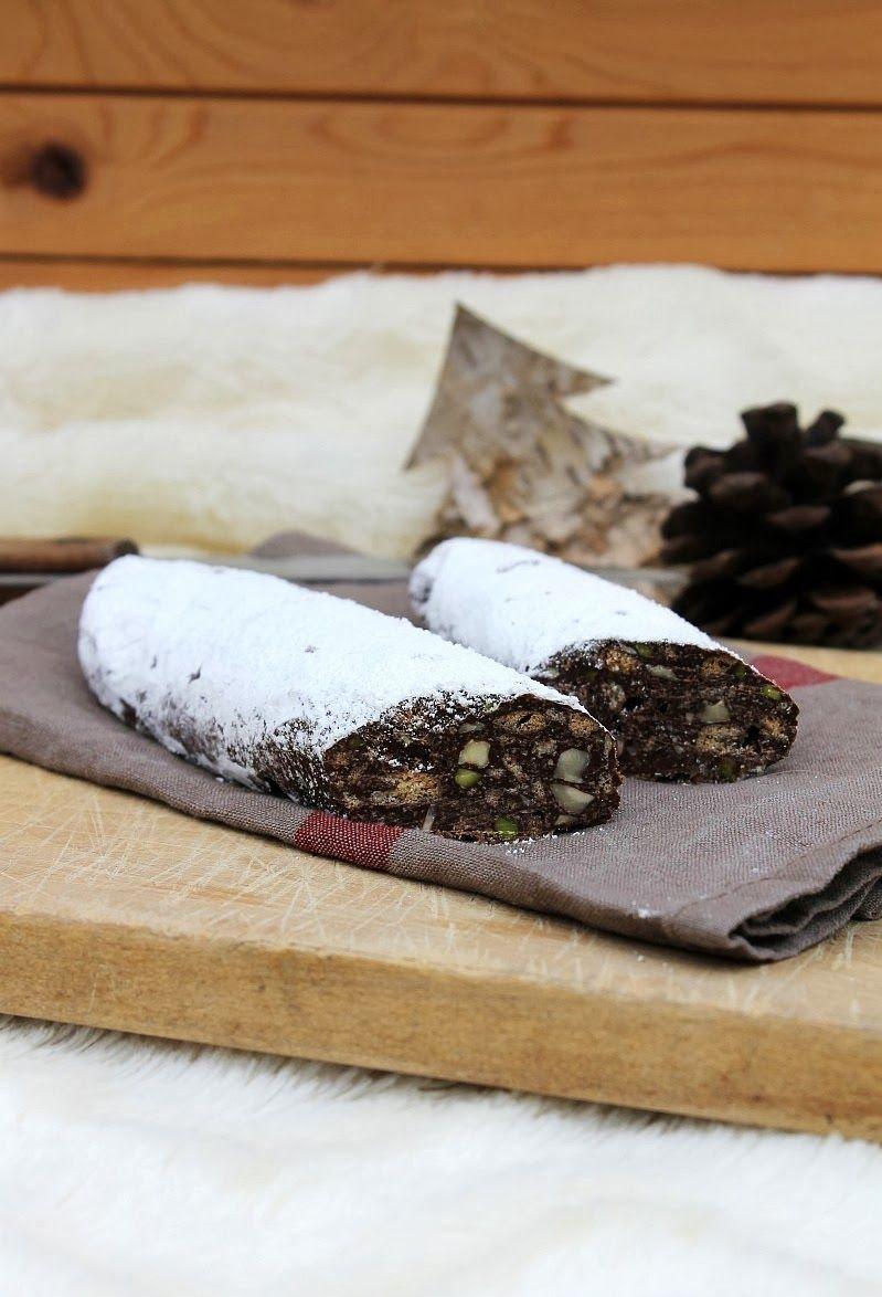 Tinkas Welt: Geschenke aus der Küche: Die Schokoladensalami