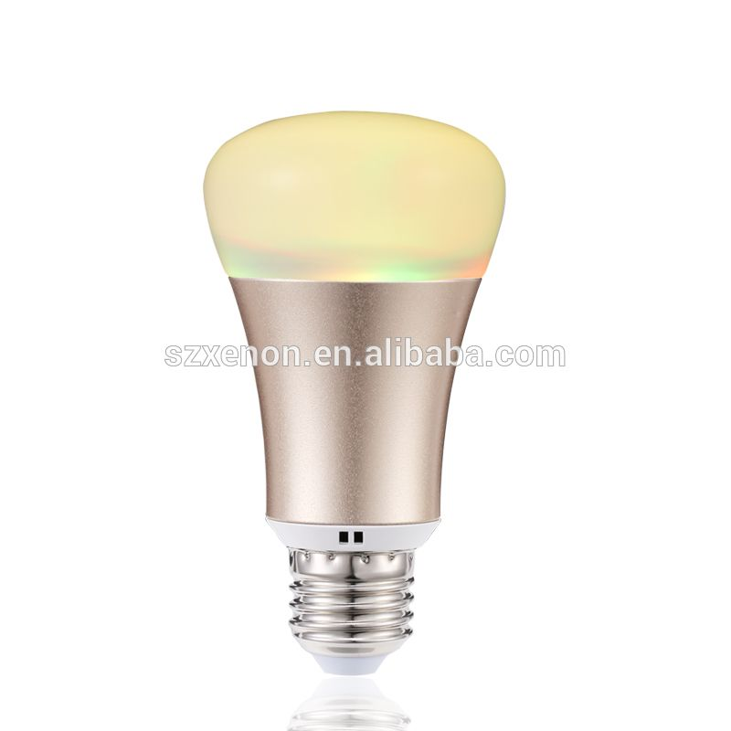 xenon wifi lamp e27 5w bulbcontrol rgb led bulb with high lighting efficiency wifi bulb work. Black Bedroom Furniture Sets. Home Design Ideas