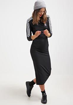 adidas Originals - Maxi-jurk - black | Dameskleding, Kleding ...